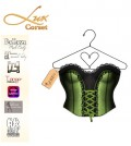Lux Corset with Mesh Body Appliers 1L Promo by D Queen - Teleport Hub - teleporthub.com