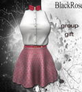 Pink Skirt and White Top May 2015 Group Gift by BlackRose - Teleport Hub - teleporthub.com
