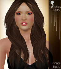 Oops Hair All Colors Gift by Lelutka - Teleport Hub - teleporthub.com