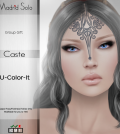 Caste Forehead Tattoo May 2015 Group Gift by Madrid Solo - Teleport Hub - teleporthub.com
