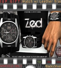 Mesh Leather Watch Bracelet Group Gift by ZED - Teleport Hub - teleporthub.com