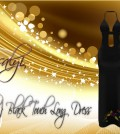 Black Touch Long Dress 30L Promo by Rossalyi - Teleport Hub - teleporthub.com