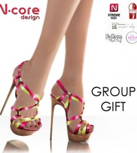 Knotted Spring Edition Heels Group Gift by N-CORE - Teleport Hub - teleporthub.com