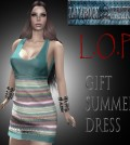 L.O.P Summer Dress Group Gift by Lavarock Creations - Teleport Hub - teleporthub.com