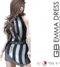 Emma Dress Stripe Group Gift by GABRIEL - Teleport Hub - teleporthub.com