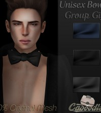 Unisex Bowtie 3 Colors Group Gift by Caboodle - Teleport Hub - teleporthub.com