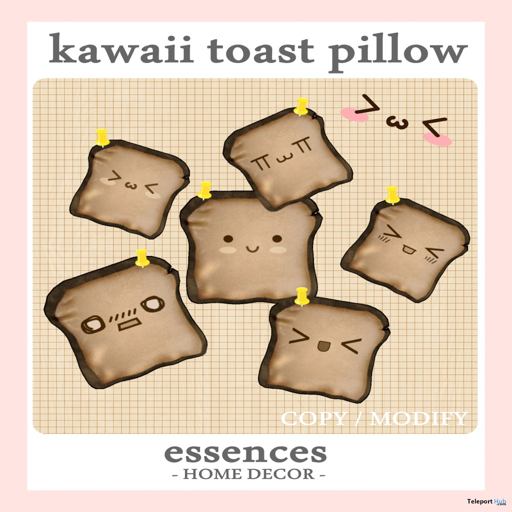 kawaii toast pillow gimme gacha group gift by essences toast living home decor toast living india store locator
