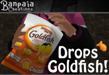 Goldfish Bag with Dropping and Eating Animation by Banpaia Creations - Teleport Hub - teleporthub.com