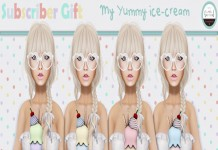 My Yummy Ice Cream Subscriber Gift by Label Motion - Teleport Hub - teleporthub.com
