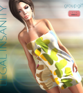 Towel for Her July 2015 Group Gift by Legal Insanity - Teleport Hub - teleporthub.com