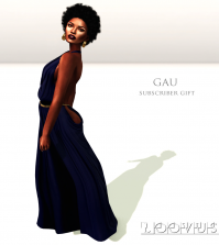 Gau Maxi Reflect Blue Subscriber Gift by Loovus - Teleport Hub - teleporthub.com
