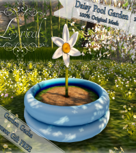 Daisy Pool Garden Gimme Gacha Group Gift by Lyrical - Teleport Hub - teleporthub.com