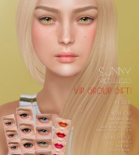 Sunny Mesh Head Group Gift by Genesis Lab - Teleport Hub - teleporthub.com
