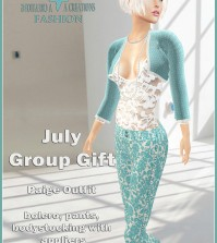 Paige Outfit July 2015 Group Gift by FA CREATIONS - Teleport Hub - teleporthub.com