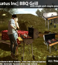 New Release: BBQ Grill by [satus Inc] - Teleport Hub - teleporthub.com