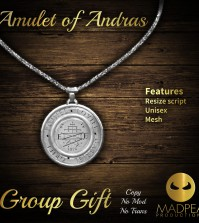 MadPea Amulet of Andras Group Gift by MadPea - Teleport Hub - teleporthub.com