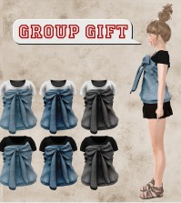 Ribbon Tube Top Group Gift by M.I.X. - Teleport Hub - teleporthub.com