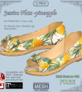 Jessica Flats and Rebecca Slingback Subscriber Gift by G Field - Teleport Hub - teleporthub.com