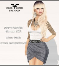 Kiara Outfit September 2015 Group Gift by FA CREATIONS - Teleport Hub - teleporthub.com