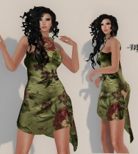 Aino Dress August 2015 Group Gift by monaLISA - Teleport Hub - teleporthub.com