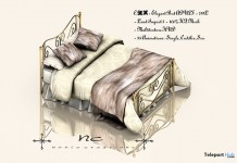 New Release: Elegant Bed ADULT by Noble Creations - Teleport Hub - teleporthub.com