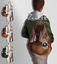 Leather Rope Backpack Group Gift by Zenith - Teleport Hub - teleporthub.com