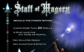Mage Staff Spellcasting System by The Arcanum - Teleport Hub - teleporthub.com