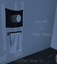Wall Art and Hanging Towel Group Gift by Clustered - Teleport Hub - teleporthub.com