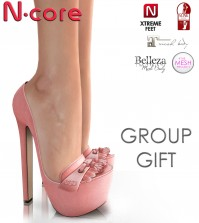 NORMA Pale Pink Shoes Group Gift by N-CORE - Teleport Hub - teleporthub.com