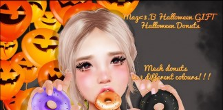 Halloween Donuts 2L Promo Gift by Mag