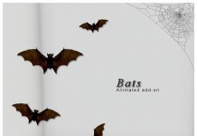 Flying Bat Limited Time Halloween Gift by WICKED - Teleport Hub - teleporthub.com