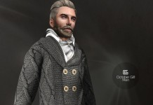 Gray Sweater For Men Group Gift by Gizza Creations - Teleport Hub - teleporthub.com