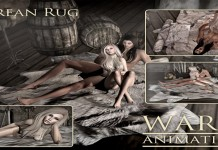 New Release: Gorean Rug by Warm Animations - Teleport Hub - teleporthub.com
