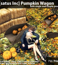 New Release: Pumpkin Wagon by [satus Inc] - Teleport Hub - teleporthub.com
