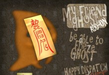 My Friend Ghost HUD Subscriber Gift by Happy Dispatch - Teleport Hub - teleporthub.com