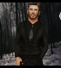Serious Shirt for Men December 2015 Group Gift by AMERICAN BAZAAR - Teleport Hub - teleporthub.com