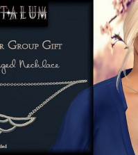 Adri Winged Necklace Group Gift by Tantalum - Teleport Hub - teleporthub.com