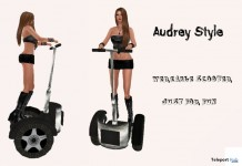 Wearable Scooter by Audrey Style - Teleport Hub - teleporthub.com