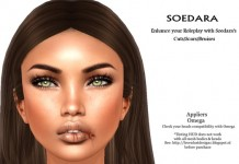 Cut Lip Omega Applier For Mesh Head by Soedara - Teleport Hub - teleporthub.com