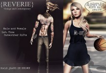 Up The Bracket Male Jeans & Girls of Summer Athletic Outfit Subscriber Gift by Reverie - Teleport Hub - teleporthub.com