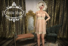 Claira Silk & Lace Slip February 2016 Group Gift by Petite Mort - Teleport Hub - teleporthub.com