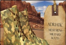 Military Boots Camouflage Group Gift by ADRIATIC line - Teleport Hub - teleporthub.com