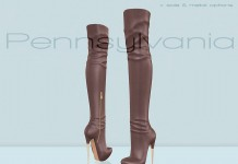 Pennsylvania Cognac Boots Midnight Madness 24 Hour Gift by Essenz - Teleport Hub - teleporthub.com