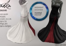 Ivanka Gown Red Duo Midnight Madness 24 Hour Gift by Apple May Designs - Teleport Hub - teleporthub.com
