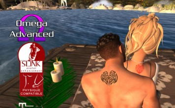 One Heart Valentines Special Tattoo 50L Promo by Ripley Bay Tattoos - Teleport Hub - teleporthub.com