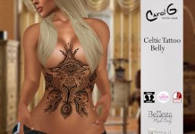 Celtic Belly Tattoo by Carol G - Teleport Hub - teleporthub.com
