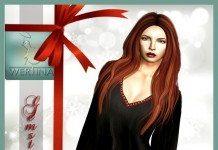 Red Gemstone Dress Group Gift by WERTINA - Teleport Hub - teleporthub.com