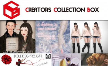 Several Gifts at Creators Collection Box 1st Anniversary by Various Designers - Teleport Hub - teleporthub.com