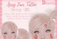 Kissy Face Tattoo Group Gift by Buglets - Teleport Hub - teleporthub.com