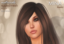 Esmee Ombres With HUD Liaison Collaborative Birthday Gift by MINA Hair - Teleport Hub - teleporthub.com